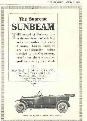 1916 Sunbeam Magazine Advertisement wx8177-EYOTN2