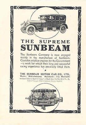 1916 Sunbeam Magazine Advertisement wx8181-DFT6OU