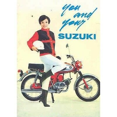 1966 ? You and Your Suzuki  Sales Brochure wx8784-PYQDNZ