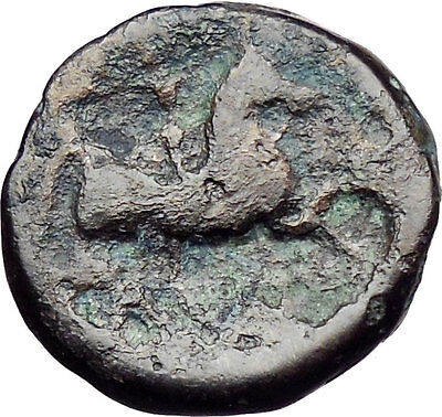 Philip II Alexander the Great Dad OLYMPIC GAMES Ancient Greek Coin Horse i30323