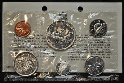 1966 Canada Prooflike Uncirculated Set - Silver