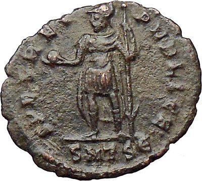 Julian II as Caesar w globe and spear 355AD Ancient Roman Coin Rare  i30342
