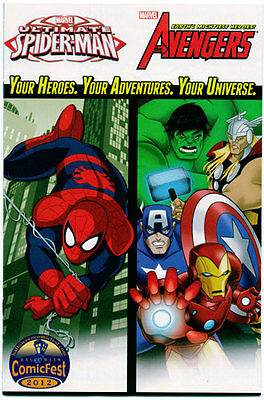 MARVEL UNIVERSE AVENGERS & ULTIMATE SPIDER-MAN 2012 Halloween Mini-Comic - NM