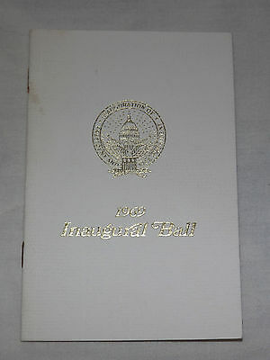 Vintage 1969 President Richard Nixon Inaugural Ball Program