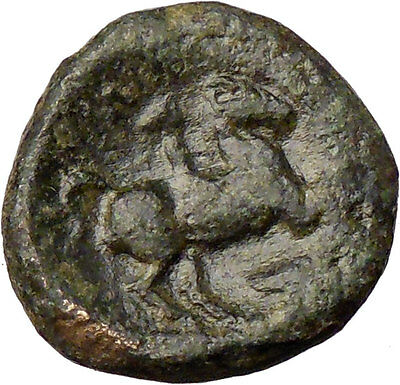 Philip II Alexander the Great Dad OLYMPIC GAMES Ancient Greek Coin Horse  i28773