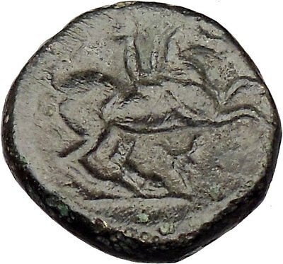 Philip II Alexander the Great Dad OLYMPIC GAMES Ancient Greek Coin Horse  i29713