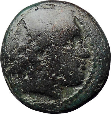 Philip II Alexander the Great Dad OLYMPIC GAMES Ancient Greek Coin Horse i30331