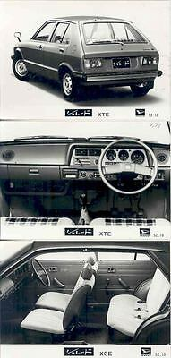 1979 Daihatsu Charade ORIGINAL Factory Photo Lot  wn4518-87L3IR