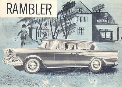 1959 Rambler Brochure Export Sweden  wn531-98B8DH