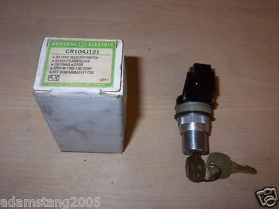 New Ge Cr104J121 Oiltight 2 Psition Key Switch