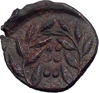 HIMERA Sicily QUALITY Ancient Genuine Greek Coin Nymph & LAUREL Wreath   i28414