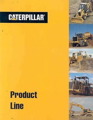 1994 Caterpillar Excavator Loader Crawler Brochure  wn3508-32SHBH