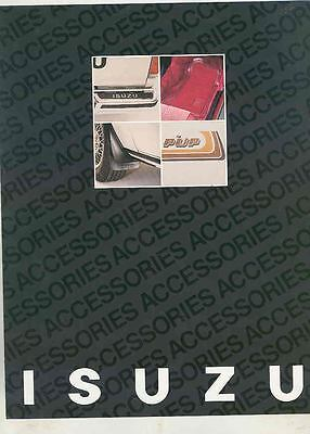 1982 Isuzu P'UP Pickup Truck & I-Mark Accessories Brochure ws3640-J1CTQ3