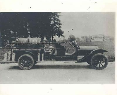 1915 ? White Fire Truck Photo  wl6136-SH9EEQ