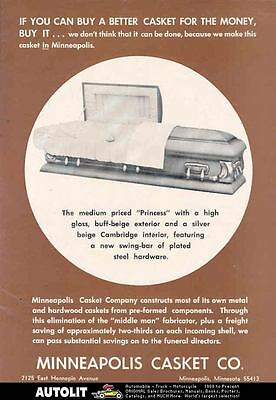 1966 Minneapolis Princess Casket Ad wl8863-L79TKE