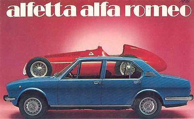1976 Alfa Romeo Alfetta Sedan Brochure Dutch  wk6879-KR248S