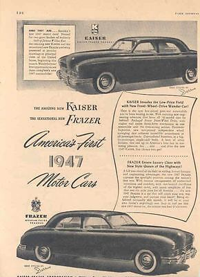 1946 1947 Kaiser Frazer Ad Smith Brothers Cough Drops  wk8788-9GNVZ9
