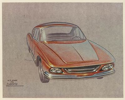 1959 Kaiser Darrin Proposed Facelift Automobile Photo Poster zad5167-31D8IN
