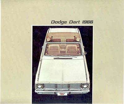 1966 Dodge Dart & GT Brochure Export French Benelux  wj1273-69EMWU
