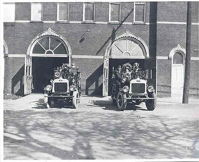 1925 Gramm Bernstein Fire Truck Photo  wj3640-VMTHCK