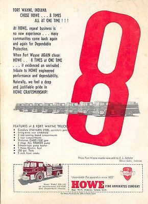 1967 International Howe Fire Truck Ad Kings Park Dept wj4266-EOIU9H