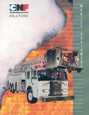 1991 CNF Foam Unit Fire Truck Sales Brochure wj429-YMT988