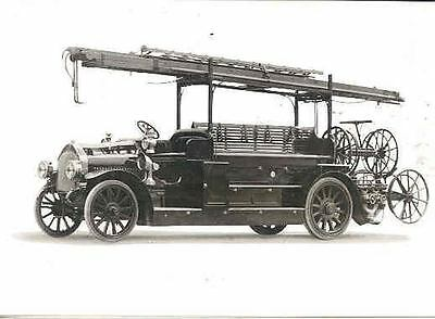 1915 MAN Fire Truck ORIGINAL Factory Photo  wj5442-CSZCBN