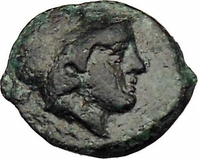 Mesembria in Thrace 350BC Rare Ancient Greek Coin Athena Minerva   i29647