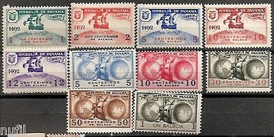PANAMA Unissued Colon Columbus Set ** MNH 1935 No emitidos