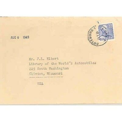 1949 Volvo Factory Letter  wh880-NQ4KBW