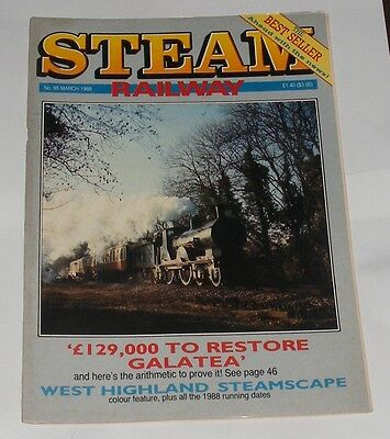 Steam Railway Magazine March 1988 - West Highland Steamscape/quintinshill