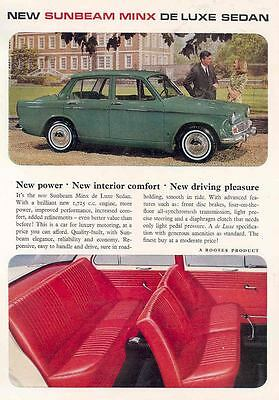1966 Sunbeam Minx Sales Brochure wf3049-EXW1MC