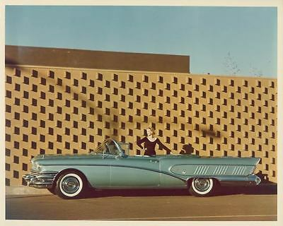 1958 Buick Limited Convertible Factory Photo ad2547-ZMT5KD