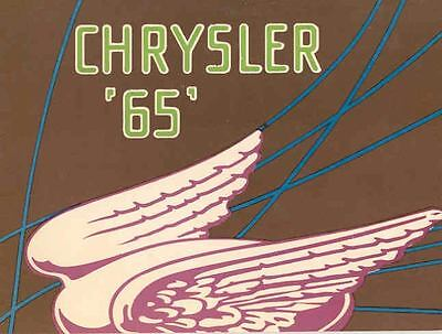 1929 Chrysler Model 65 Sales Brochure wf9654-JAPU8N