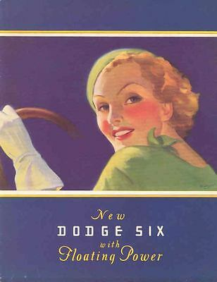 1933 Dodge Six Sales Brochure wf9679-PWTLQK