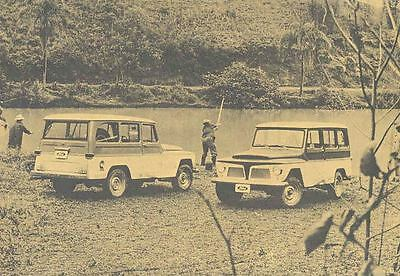 1969 Ford Willys Rural Jeep Wagon Brochure Brazil wd5905-SOMFLF