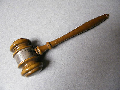 """VINTAGE ,  """" GAVEL """" ,  CHAIRMAN  1961-1962 """" ASM """"  AMERICAN SOCIETY FOR METALS"""