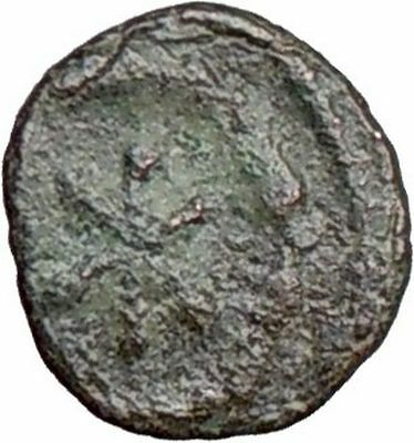 JUSTINIAN I 527AD Carthage Nummus Star  Genuine  Ancient Byzantine Coin  i20732
