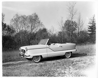 1958 AMC Metropolitan Convertible Factory Photo ad2903-6HZILG