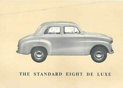 1955 Standard Triumph Eight Deluxe Sales Brochure wc987-VAFMYU