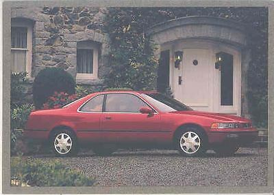1992 Acura Legend Coupe Salesman's Note Card mx1622-C9NX22