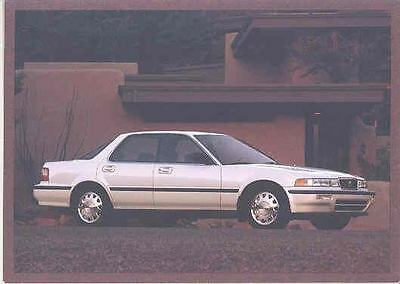 1992 Acura Vigor Salesman's Note Card mx1624-46V4SJ