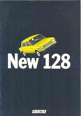 1978 Fiat 128 European Brochure mx1887-BXXS3K