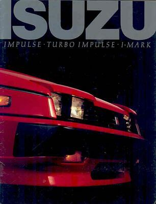 1985 Isuzu Impulse & Turbo I-Mark Brochure mx2122-BE3EQS