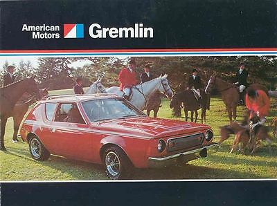 1974 AMC Gremlin Brochure Military mx2956-GBL5HE