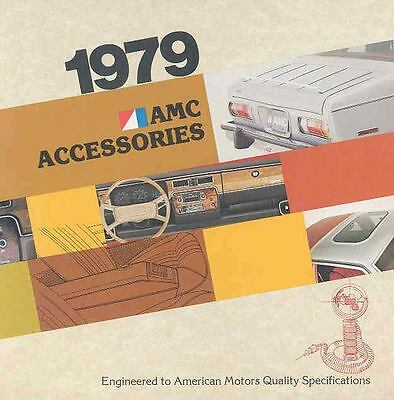 1979 AMC Accessories Brochure mx3049-RJPOCH