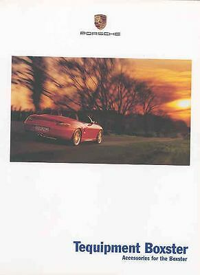 2001 Boxster Accessories Prestige Brochure mx3991-G3TZ8V