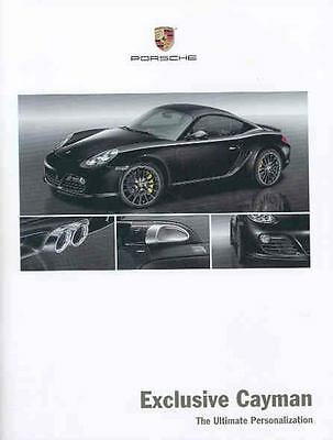 2009 Porsche Cayman Options Brochure mx3990-A5Y5IQ