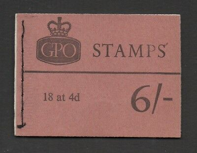 QP35 6s booklet. APRIL, 1968. Fine and complete!