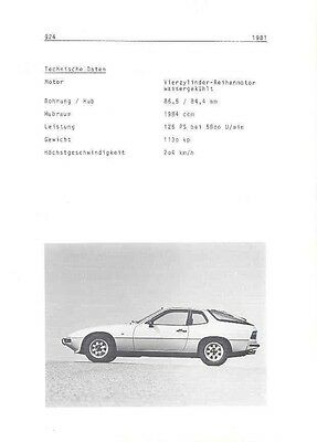 1981 Porsche 924 Sales Brochure German wa8283-SGS9YL